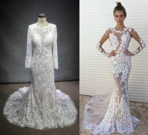 Darius Cordell Custom Replica Inspired By Berta Bridal Style 17 144