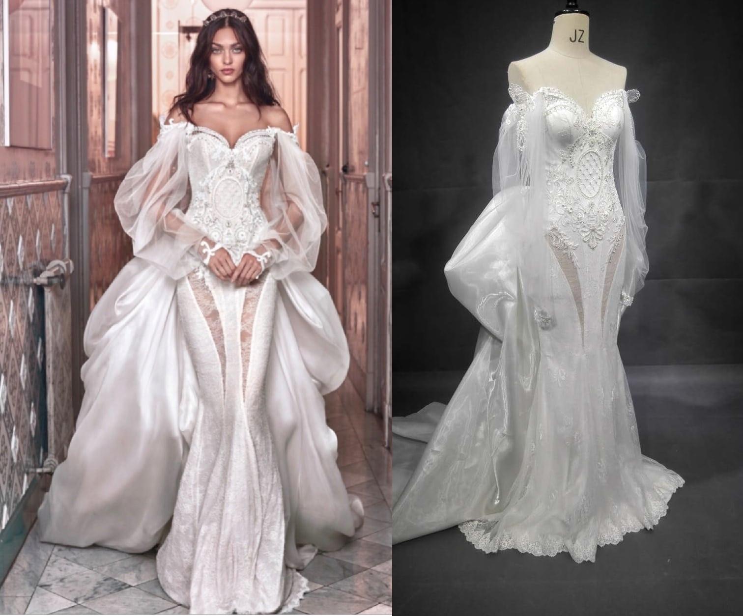 Galia Lahav Wedding Gowns: Replica Of Haute Couture Bridal Gown Design From Darius Bridal