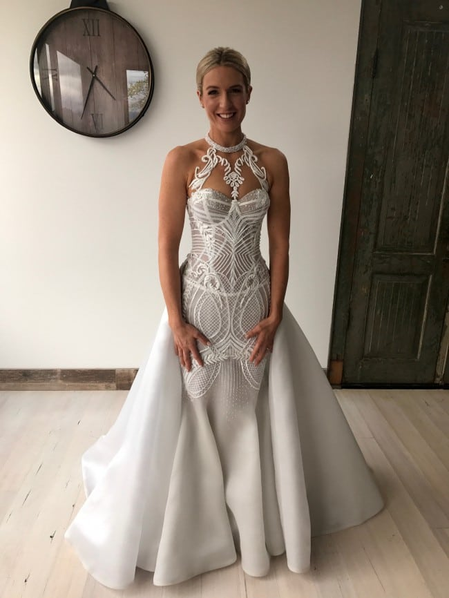 Haute Couture Halter Style Wedding Gowns From Darius Bridal