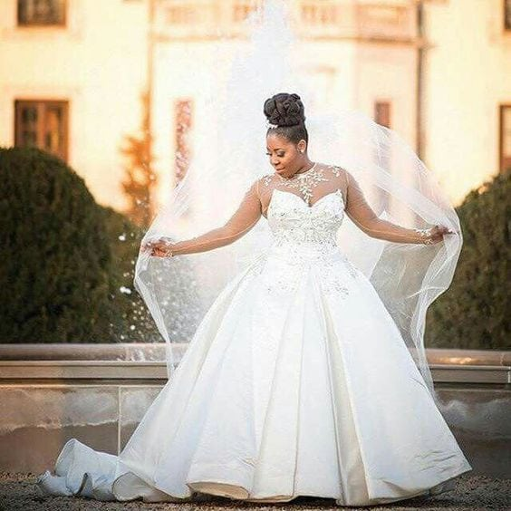 Princess plus size wedding gowns – DARIUS CORDELL