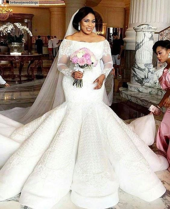 Haute Couture Wedding Gown: Haute Couture Plus Size Lace Wedding Gowns